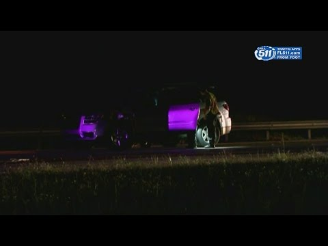 Fatal pedestrian accident on I-75 SB