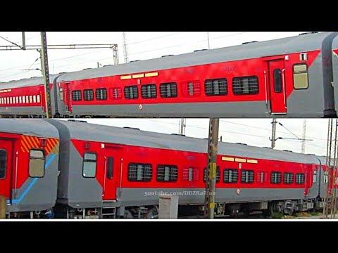 New WIDE Window LHB Sleeper COACHES 2018 !! Indian Railways thumbnail