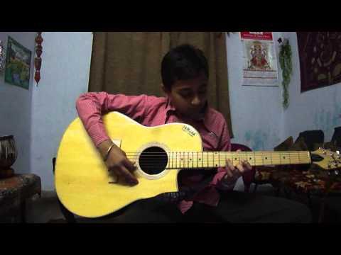 Yeh Ladka Hai Allah On Guitar By Sagar video