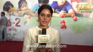 Bindu Madhavi At Pasanga 2 Movie Press Meet