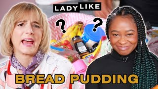 Devin and Freddie Make Holiday Bread Pudding With A Professional Chef • Ladylike