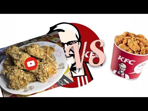 Крылышки в кляре-панировке  «А-ля KFC»