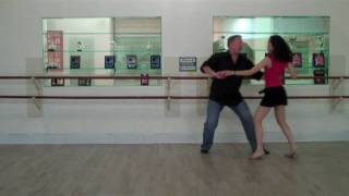 West Coast Swing Fun Move with Two Endings
