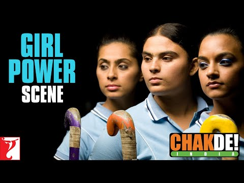 Fight Scene Girls Vs Boys - Chak De India