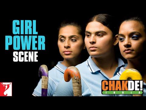 Fight Scene Girls Vs Boys - Chak De India
