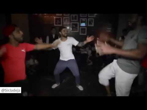 Virat Kohli & Chris Gayle Dancing After Reaching IPL Final