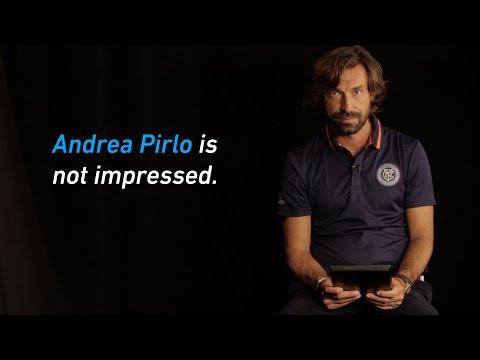 Andrea Pirlo NOT Impressed