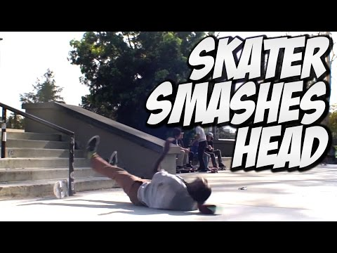 SKATER SMASHES HEAD !!! MARQUISE MENEFEE -  A DAY WITH NKA