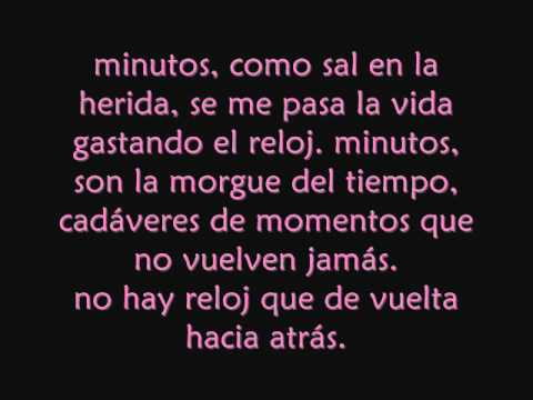 Ricardo arjona-minutos con letra Music Videos