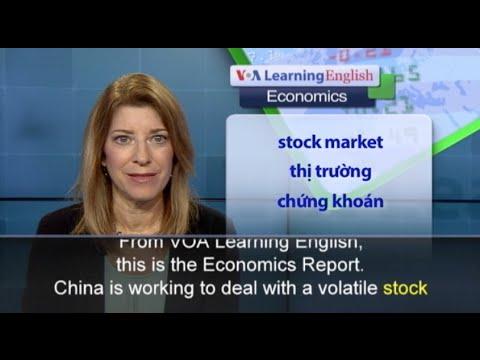 Phát âm chuẩn - Anh ngữ đặc biệt: China's Slowing Economy Affects Stock Markets Worldwide (VOA)