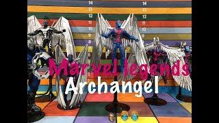 Marvel Legends ARCHANGEL action figure toy review