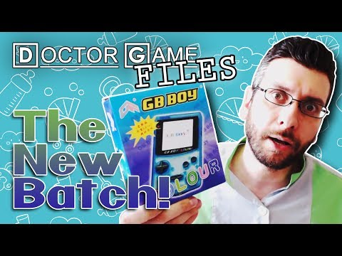 Doctor Game FILES: The New Batch! (GB BOY COLOR)