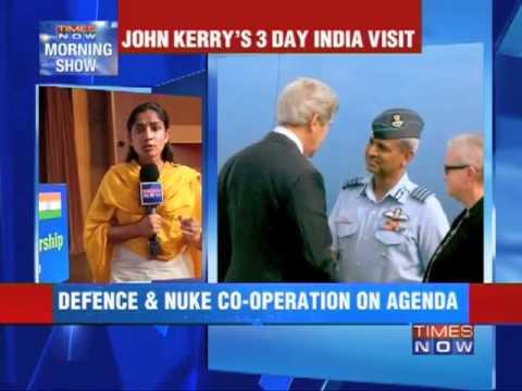 John Kerry's 3 day India visit