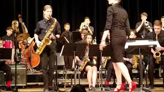 Late in the Quarter Jane Addams Middle School Senior Jazz Band, Seattle WA