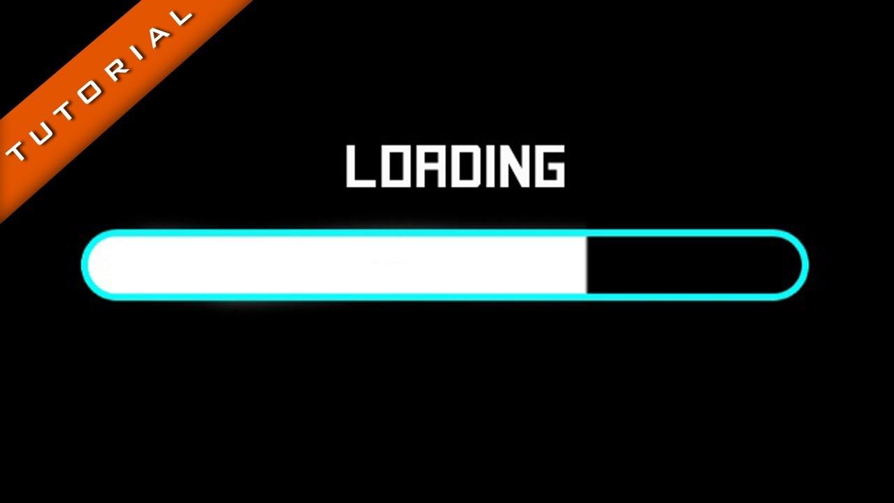 Loading Bar Intro Effe...