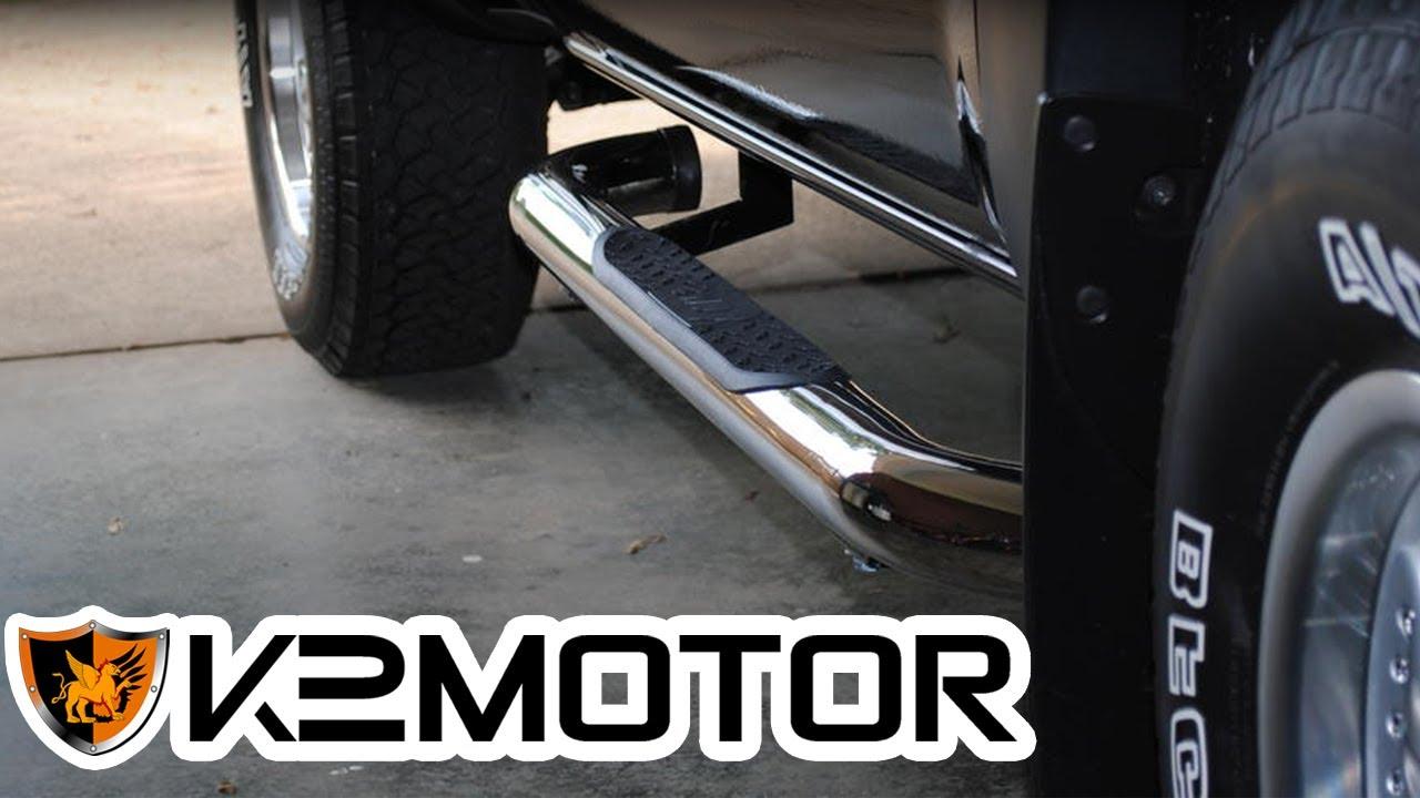 K2 Motor Installation Video Truck Suv Side Step Bars