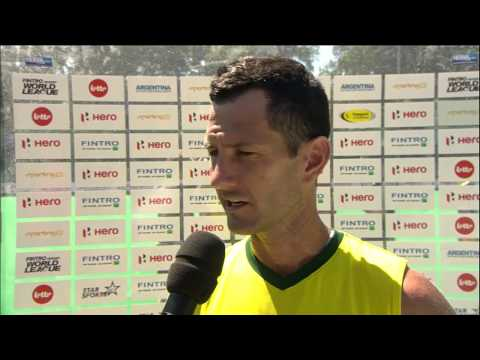 Post Match Interview Jamie Dwyer