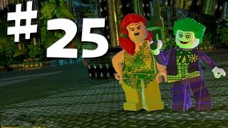 Road To Arkham Knight - Lego Batman 2 Gameplay Walkthrough - Part 25 - Poison Ivy and Joker