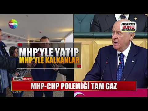 MHP-CHP Polemiği tam gaz