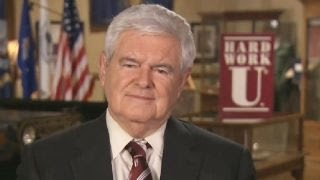 Newt Gingrich blasts Clinton