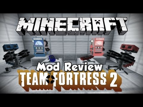 Minecraft Mod Review - Team Fortress 2
