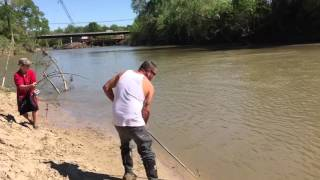 Gar Fishing Victoria Tx