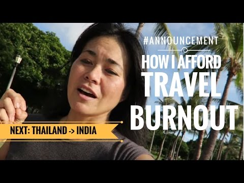 Announcement & How I Afford Travel Blogger Burnout
