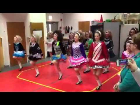Trinity Irish Dancers at Brickton Montessori School