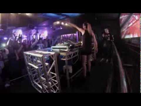 DJ Juicy M LIVE on stage at Rosies Nightclub Chester