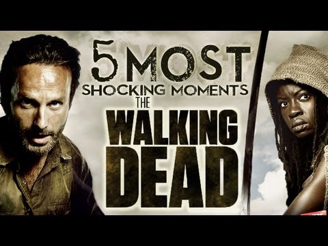 5 Most Shocking Moments On The Walking Dead!