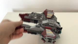 75135 Lego Star Wars Obi Wan's Jedi Interceptor Review!!!!