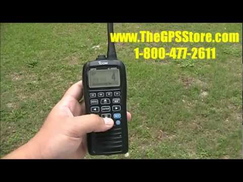 First Look - Icom M92D Handheld VHF with GPS