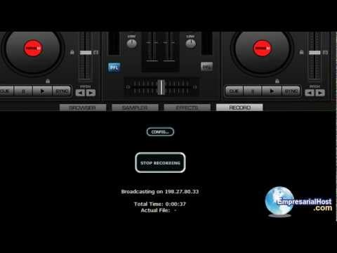 Transmitir radio por internet usando virtual dj