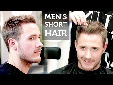 Men's Short Hair   Josh Duhamel Inspired Hairstyle   How To Style Short Hair