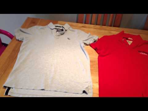 Ambercrombie and Hollister Polo Shirts