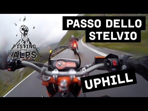Fisting The Alps - Raw - Passo Dello Stelvio Uphill (ktm 690 Smc R - Ktm 990 Smr) video
