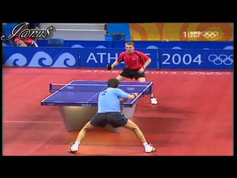 2004 Olympics (ms-R16) SCHLAGER Werner - BOLL Timo [Full Match|Short Form]