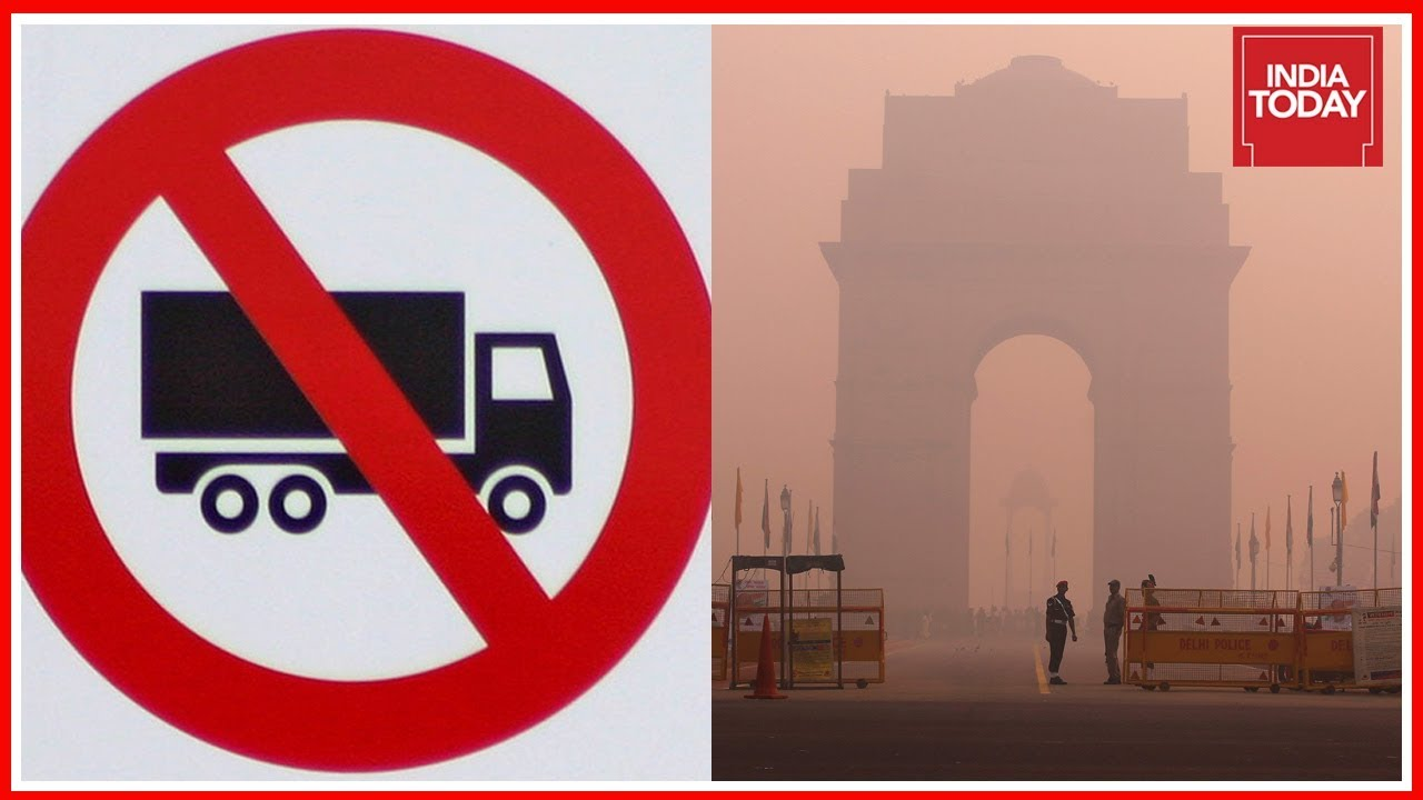 Delhi Govt Bans Entry Of Trucks In City Due Pollution