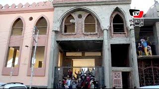 أهالي قرية دِرين بالدقهلية يستغيثون بالسيسي لوقف إزالة مسجد القرية