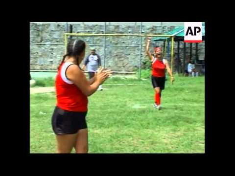 Central American prostitutes use sport in rights campaign