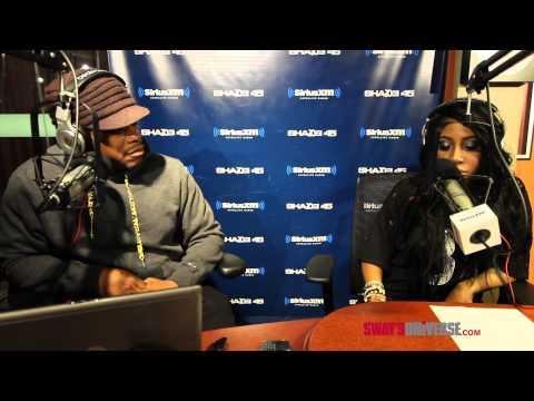 Sevyn Streeter talks Chris Brown and Creates Sway Morning show Promo!!!