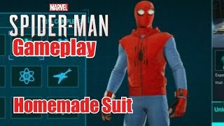 Marvel's Spider-Man PS4 - Homemade Suit Gameplay