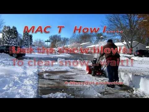 yard machine 21 inch snow blower