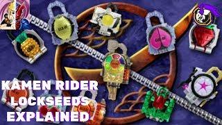 Kamen Rider Gaim: Lockseeds EXPLAINED Ft Helmets&Henshin(Karn)