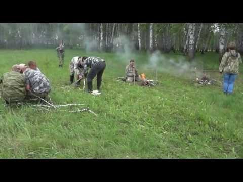 Слёт кладоискателей_конкурс_костёр, верёвка, тушёнка))
