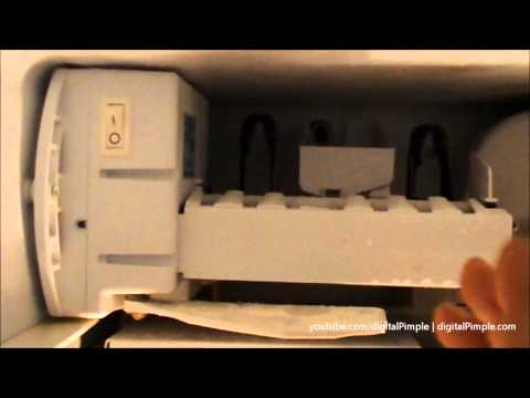 GE Refrigerator - Ice Maker Not Making Ice - Easy Fix and Repair (DIY)
