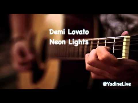 Demi Lovato Neon Lights Acoustic Cover