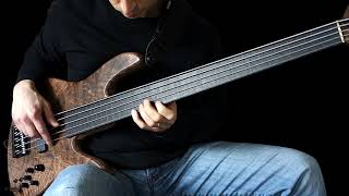 Fretless Bass Solo - 'At The Helm'