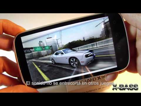 ZTE Grand XM (V970) unboxing, test and benchmark español; review by X-BASS