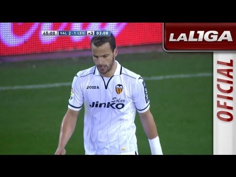 Golazo de Soldado (2-1) en el Valencia CF - Levante UD - HD
